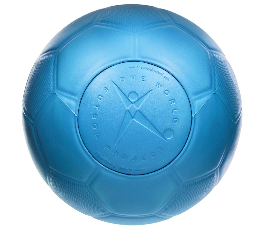 13b350231 The blue One World Futbol is our original ball — it's played, traveled the  world and evolved with us from day one. It's also our most popular ball.