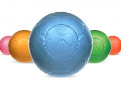 The new range of Southpaw Balls, available in every color.