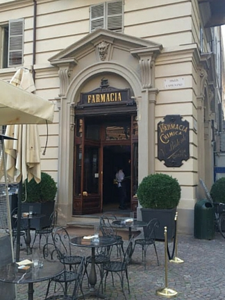Tea's guide to Turin - Farmacia